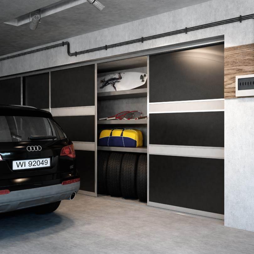 Szafy z drzwiami przesuwnymi do garażu