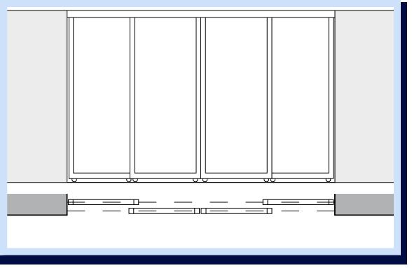 System Drzwi Przesuwnych Drzwi Do Szafy Wnekowej Indeco